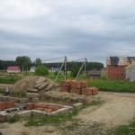 фото стройки домов в Марусино