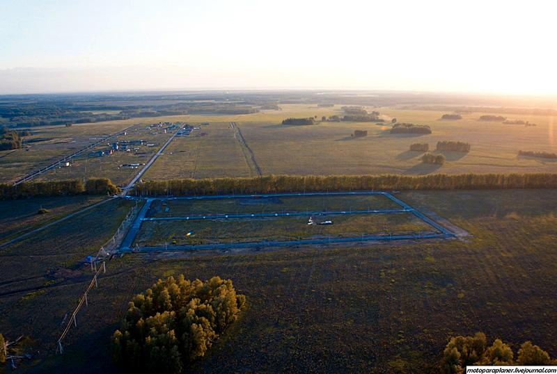 Фотография Заречного с высоты птичьего полета, 2013 год, любительская аэрофотосъемка, автор motoparaplaner.livejournal.com