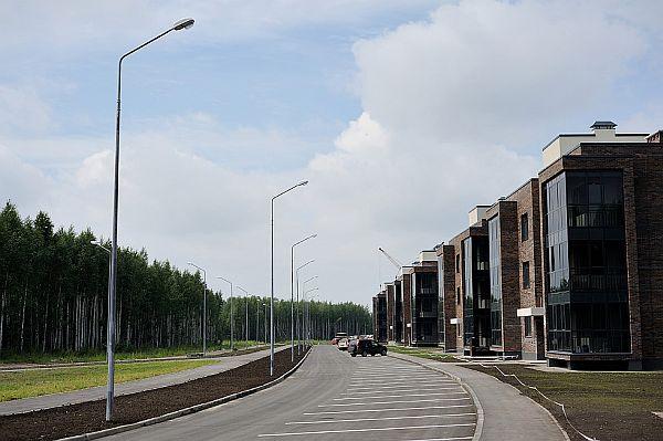 Таунхаусы и многоквартирные дома в Горках Академпарка