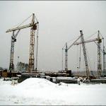 Строительство малоэтажного комплекса Бавария, ноябрь 2011 года. Источник фотографий: компания «Абрис», сайт n-s-k.net