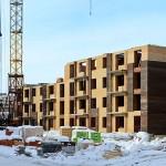 Строительство жилого комплекса Бавария, март 2013 г, фото домов с сайта застройщика