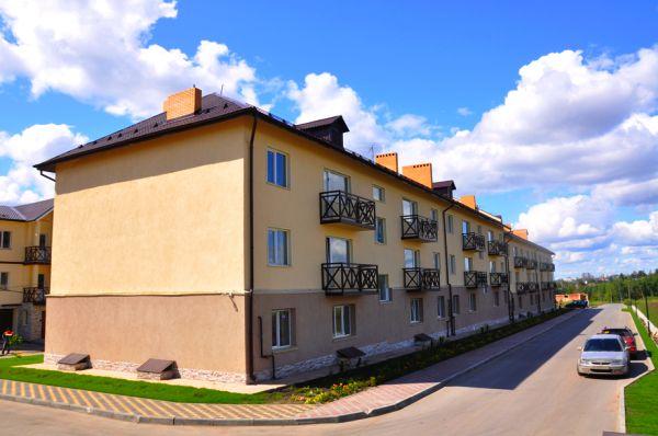 Фотография домов посёлка таунхаусов «Ключевой» (Дубравы)