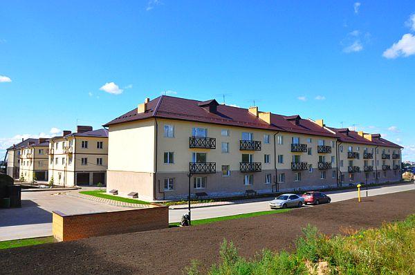 Фотография домов в малоэтажном комплексе «Ключевой» (ранее «Дубравы»)