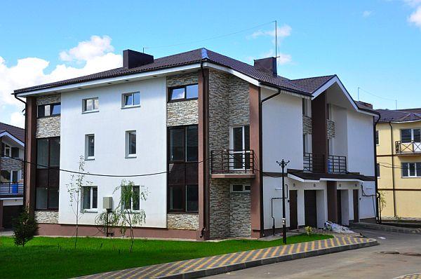 Фотография таунхауса, Новосибирск, малоэтажный комплекс «Ключевой»