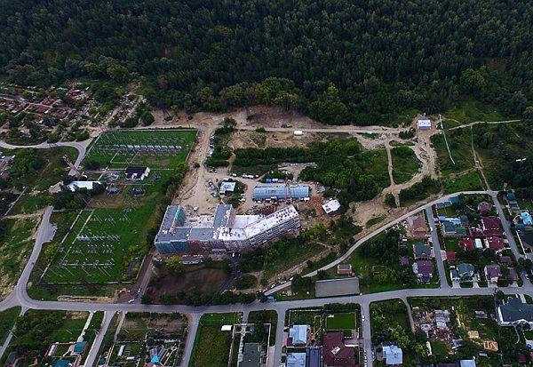 Строительство малоэтажного жилого комплекса «Жуковка»