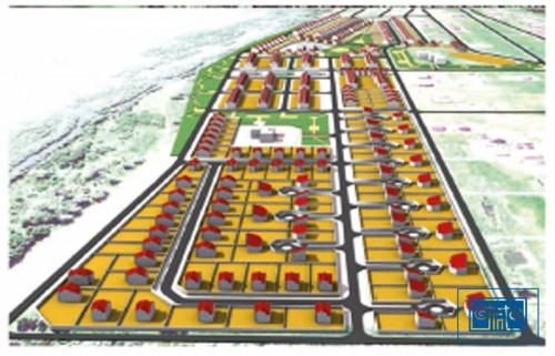 Проект застройки нового малоэтажного микрорайона в поселке Юный Ленинец