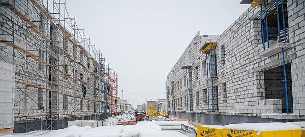 Новомарусино, строящийся малоэтажный многоквартирный микрорайон в Новосибирске