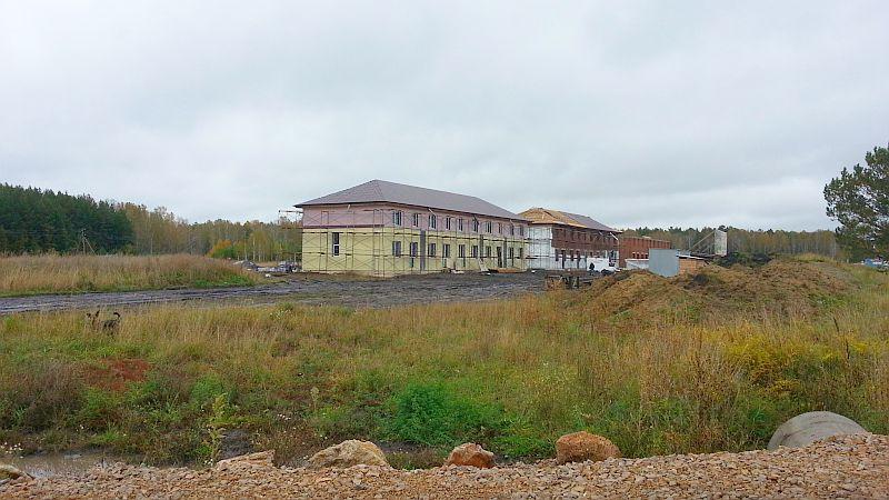 Уютный, таунхаусы на Краснояровском шоссе, малоэтажный жилой комплекс в пригороде Новосибирска