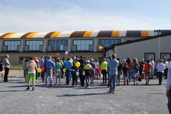 Коттеджный поселок Морской берег. Открытие спортивного комплекса
