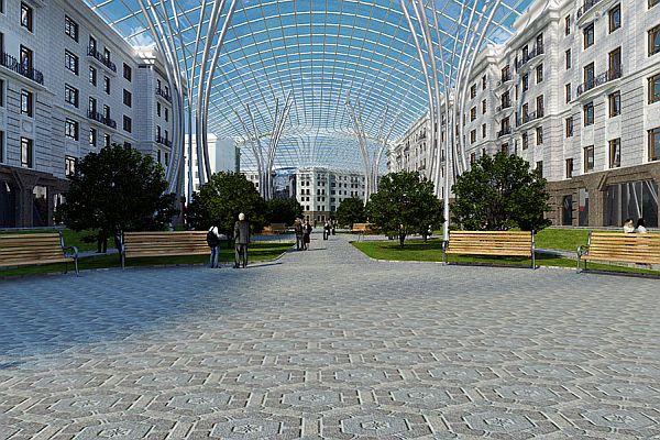 Малоэтажный микрорайон Жуковка, Новосибирск