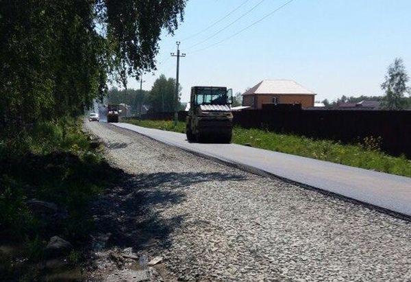 Близкий, коттеджный посёлок, строительство дороги, 2015 год