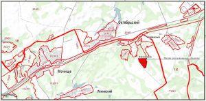 Схема расположения коттеджного посёлка «Клевер» (CLEVER) на кадастровой карте