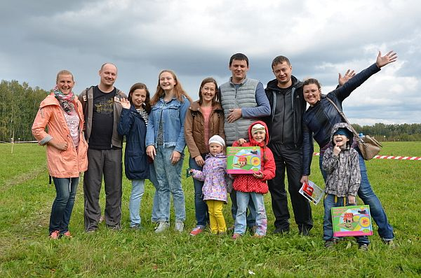 Гости на открытии продаж земельных участков в коттеджном посёлке «Клевер»