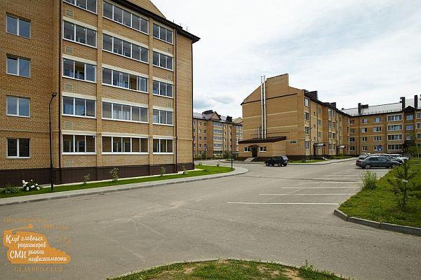 Пригородное жильё эконом-класса в Завидово. Для Москвы это - малоэтажное жильё.
