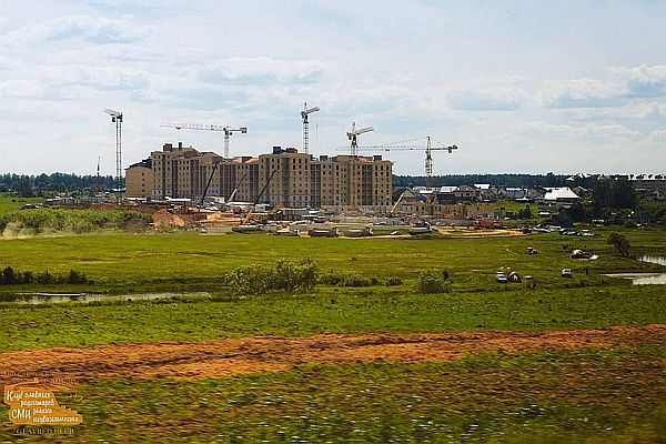 Строительство относительно малоэтажного жилья в Подмосковье (Завидово)